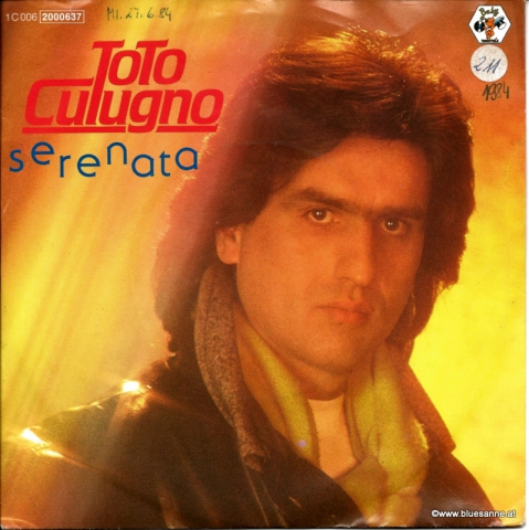 Toto Cutugno Serenata 1984 Single