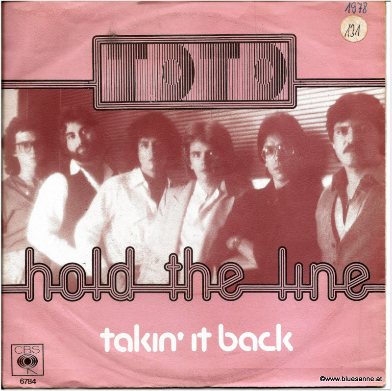 Toto Hold the line 1978 Single