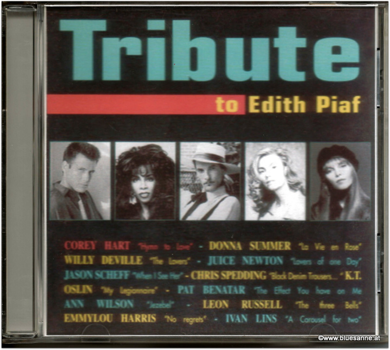 Tribute to Edith Piaf 1994 CD
