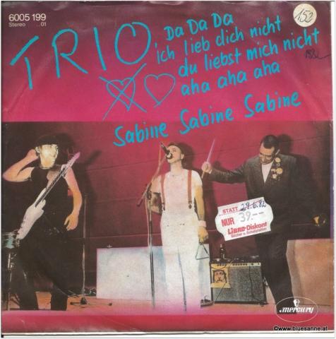 Trio Da Da Da 1982 Single