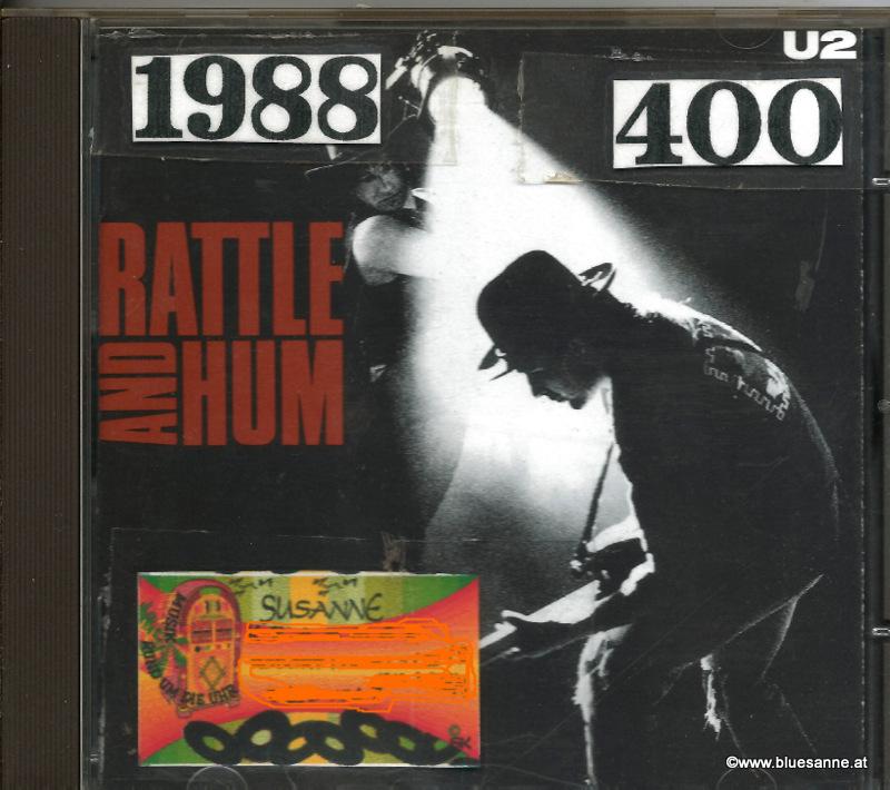 U2 Rattle and Hum 1988 CD