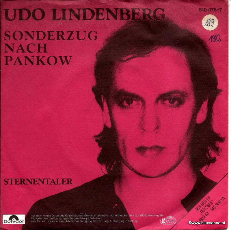 Udo Lindenberg – Sonderzug Nach Pankow 1983 Single