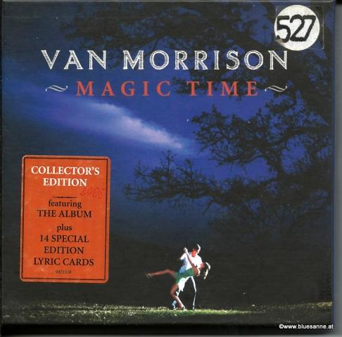 Van Morrison Magic Time 2005 CD