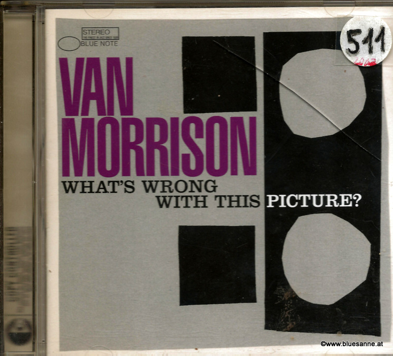 Van Morrison ‎Whats Wrong With This Picture 2003 CD