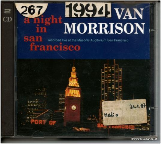 Van Morrison A night in San Francisco Doppel CD