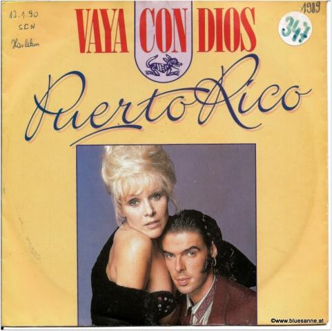 Vaya con Dios Puerto Rico  1989 Single