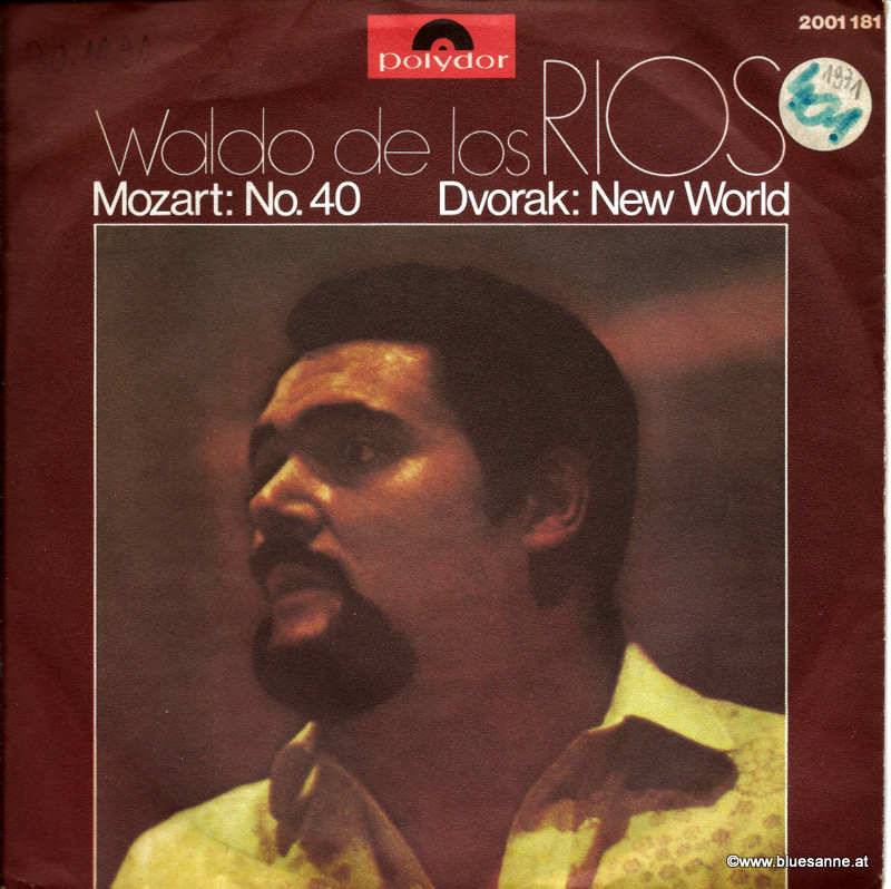 Waldo De Los Rios - Mozart: No.40, Dvorak: New World 1971