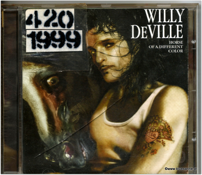 Willy DeVille ‎Horse Of A Different Color 1999 CD