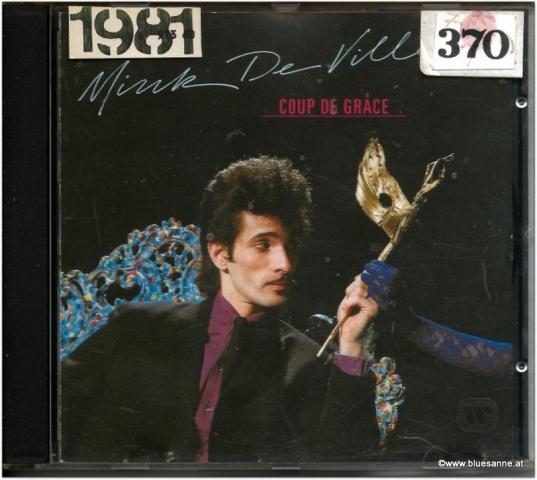 Willy DeVille Coup de grace 1981 CD