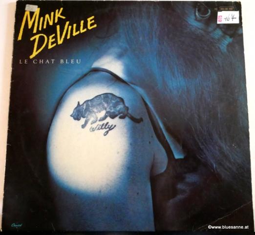 Willy DeVille Le Chat Bleu 1979 LP