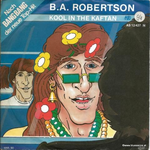 B.A.Robertson-Kool in the Kaftan 1980