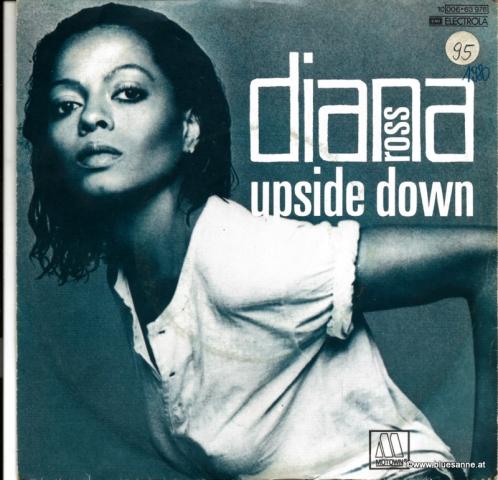 Diana Ross Upside Down 1980 Single