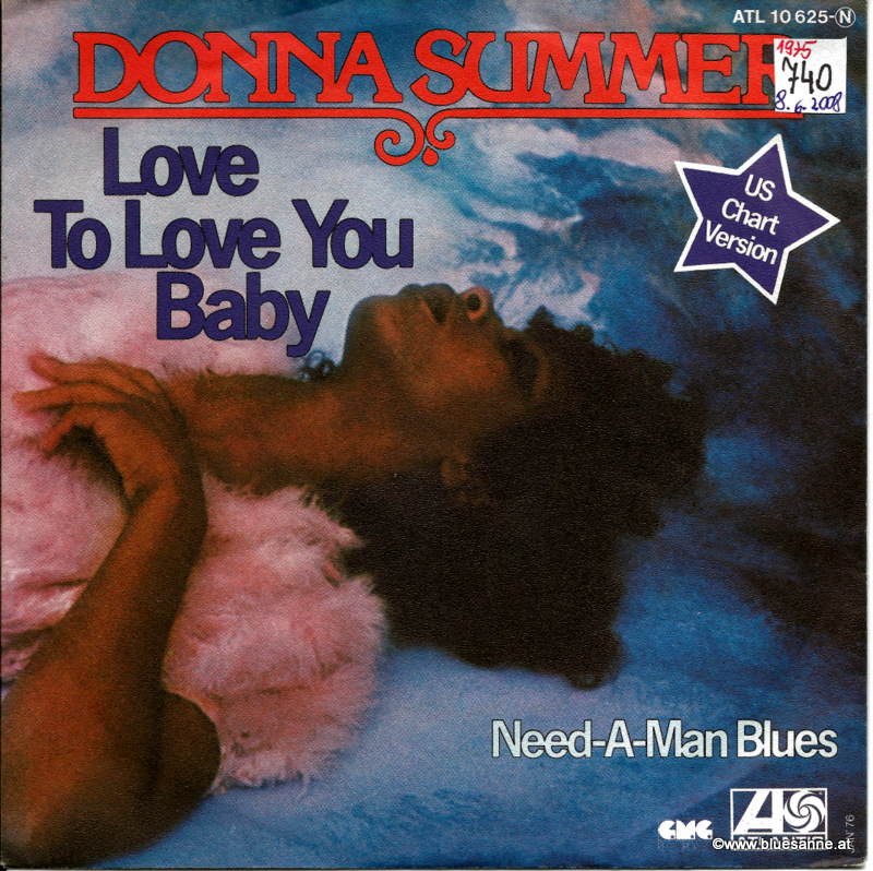 Donna Summer ‎– Love To Love You Baby 1976 Single