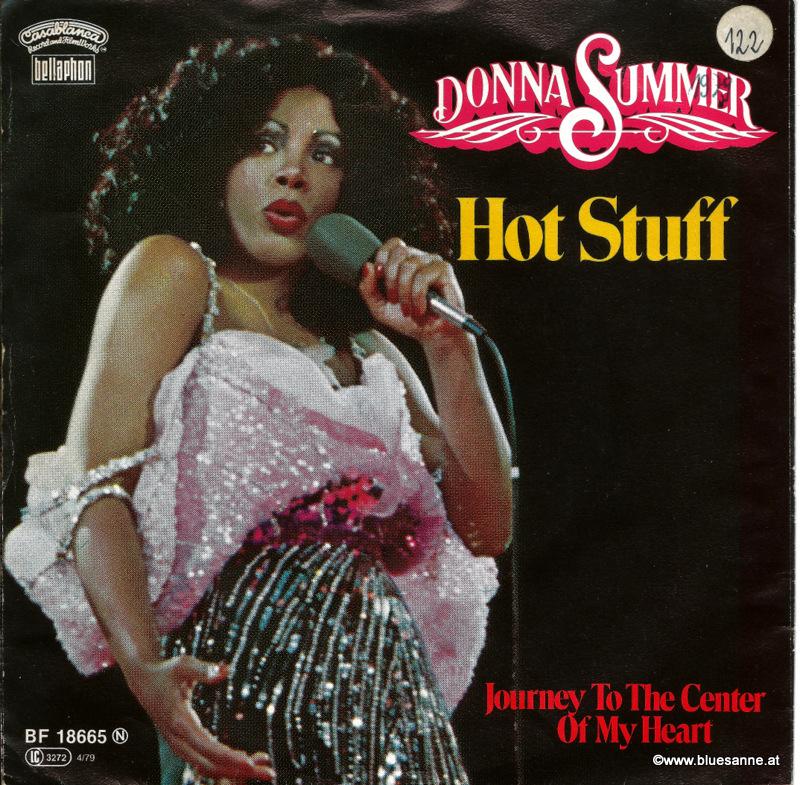 Donna Summer Hot Stuff 1979 Single