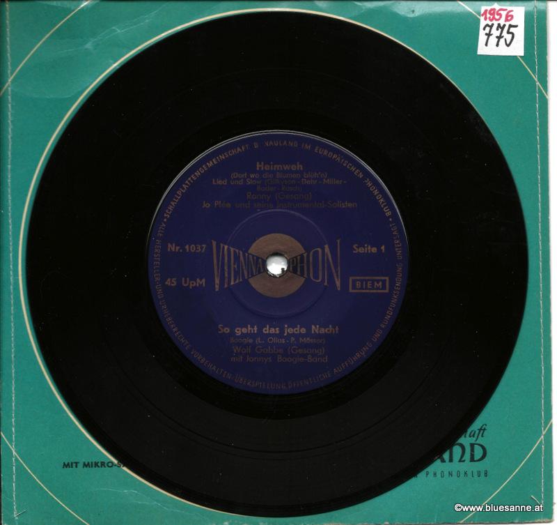 Heimweh 1956 Single