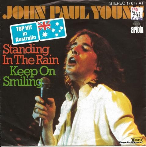 John Paul Young – Standing In The Rain 1977 Single