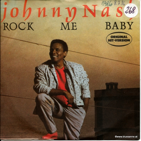 Johnny Nash ‎– Rock Me Baby 1986