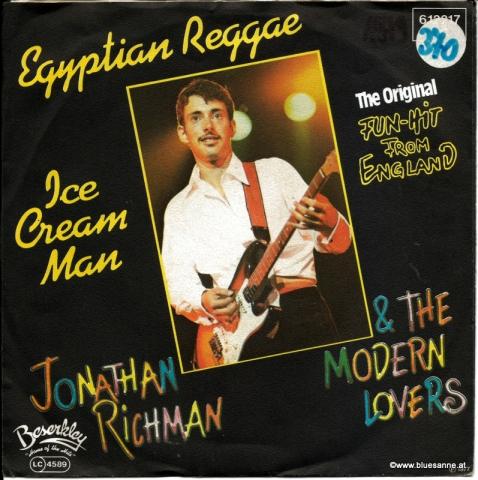 Jonathan Richman &The Modern Lovers – Egyptian Reggae 1977