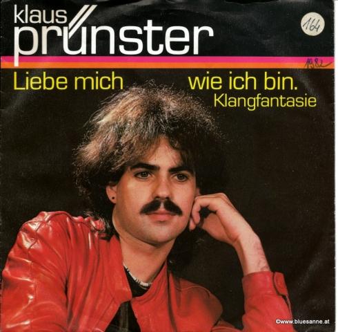 Klaus Prünster Liebe mich 1982 Single