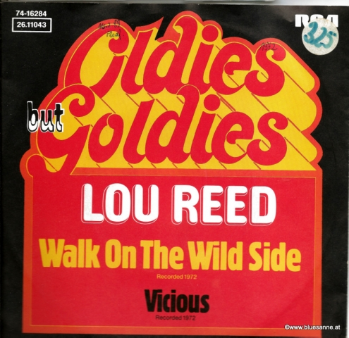 Lou Reed Walk on the wild side 1972 Single