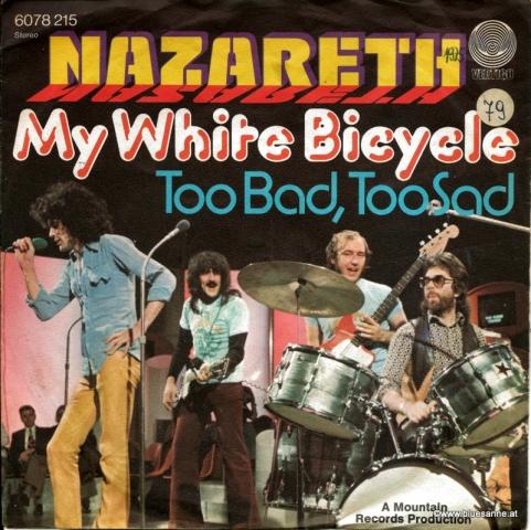 Nazareth  – My White Bicycle 1975