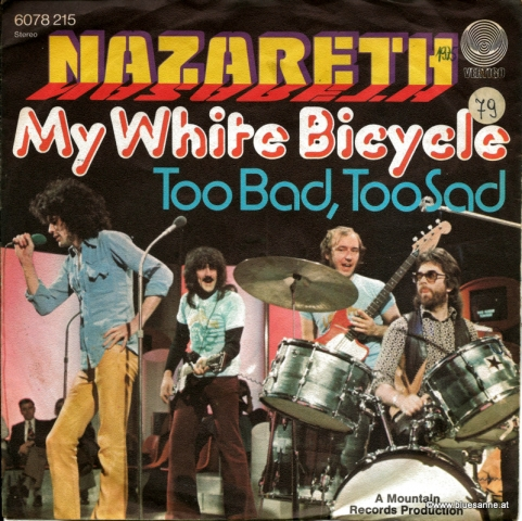 Nazareth  ‎– My White Bicycle 1975