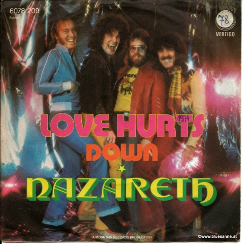 Nazareth Love Hurts 1974 Single