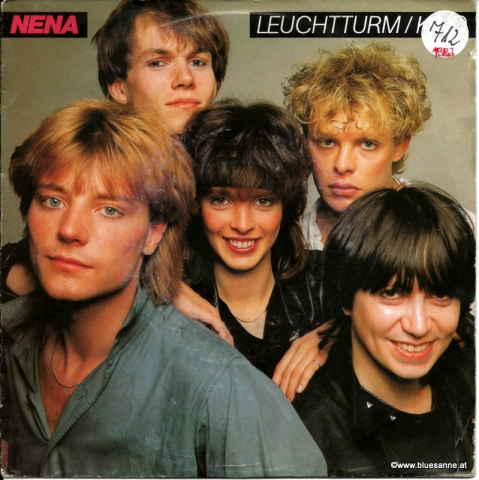 Nena ‎– Leuchtturm + Kino 1983 Single