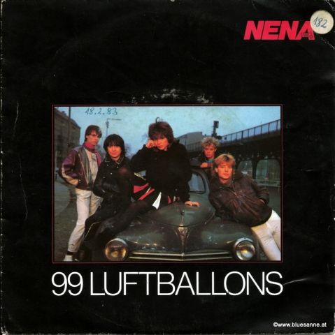 Nena -  99 Luftballons 1983 Single
