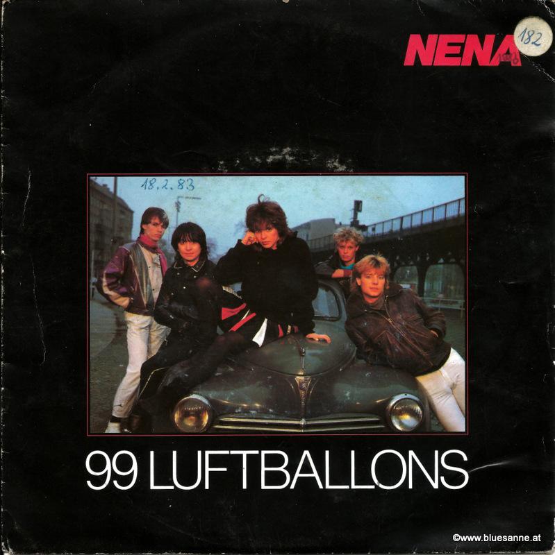Nena -  99 Luftballons 1983 Single