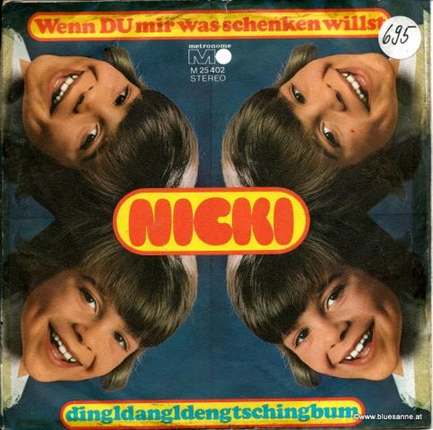Nicki – Wenn Du mir was schenken willst 1972