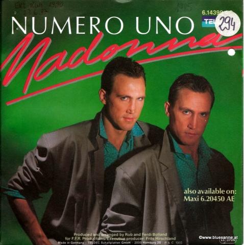 Numero Uno – Madonna 1985