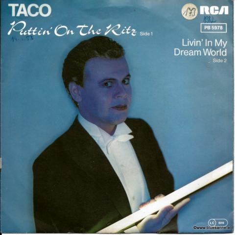 Puttin´ on the Ritz-Taco 1982 Single