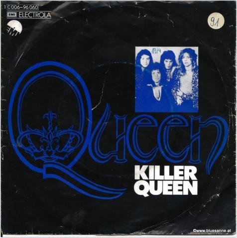 Queen Killer- Queen 1974 Single