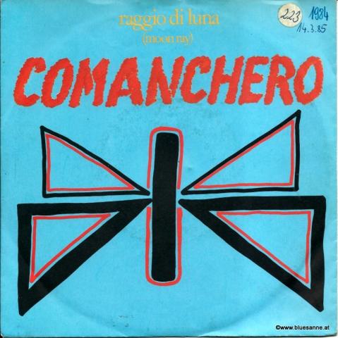 Raggio Di Luna (Moon Ray) – Comanchero 1984