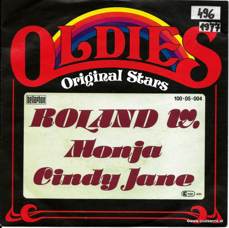 Roland W. – Monja 1977 Single