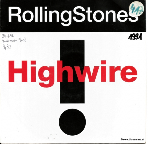 Rolling Stones - Highwire 1991