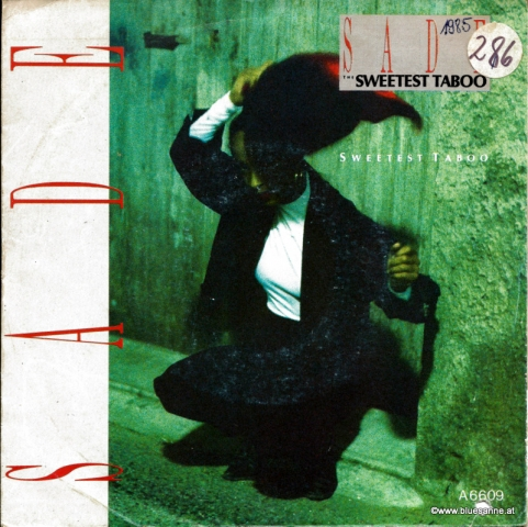 Sade Sweetest Taboo 1985 Single
