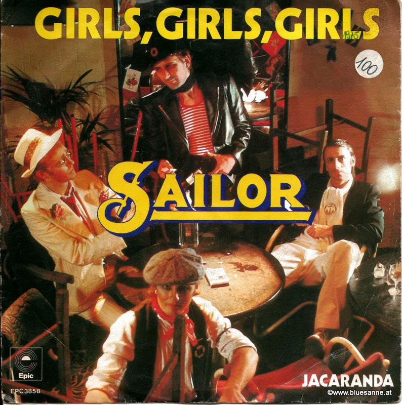 Sailor Girls, girls, girls 1975 Single