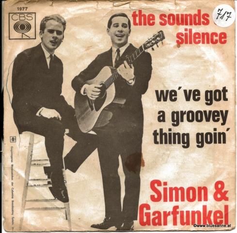 Simon & Garfunkel – The Sounds Of Silence 1965 Single