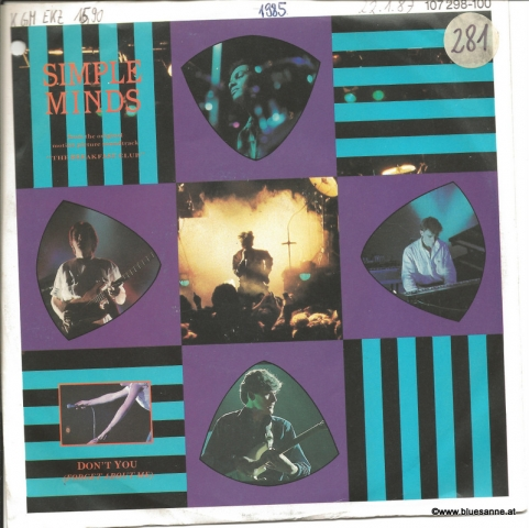 Simple Minds Dont you 1985 Single