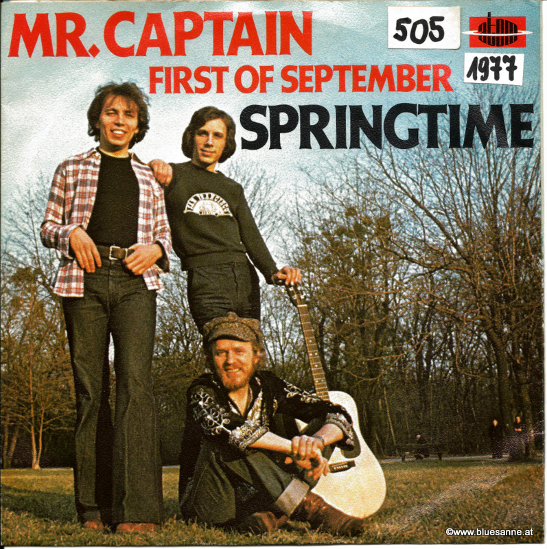 Springtime Mr.Captain 1977 Single