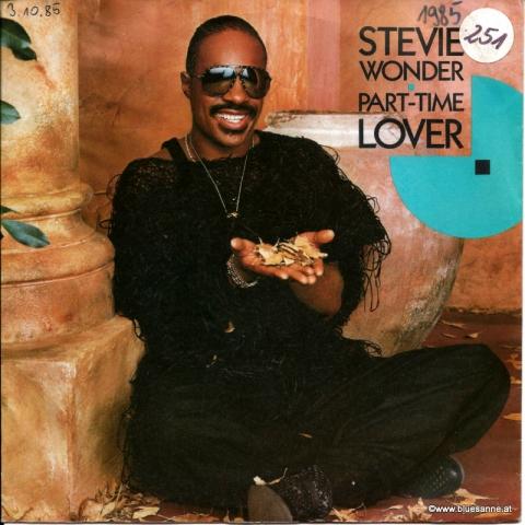 Steve Wonder Part time Lover 1985 Single