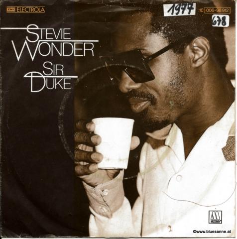 Steve Wonder Sir Duke 1977 Single
