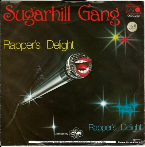 Sugarhill Gang Rappers Delight 1979 Single