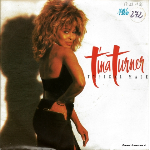 Tina Turner Typical Male 1986 Single