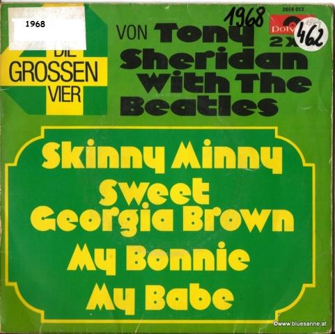 Tony Sheridan Skinny Minny 1968 Doppel-Single