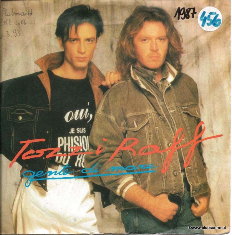 Umberto Tozzi+Raff – Gente Di Mare 1987 Single