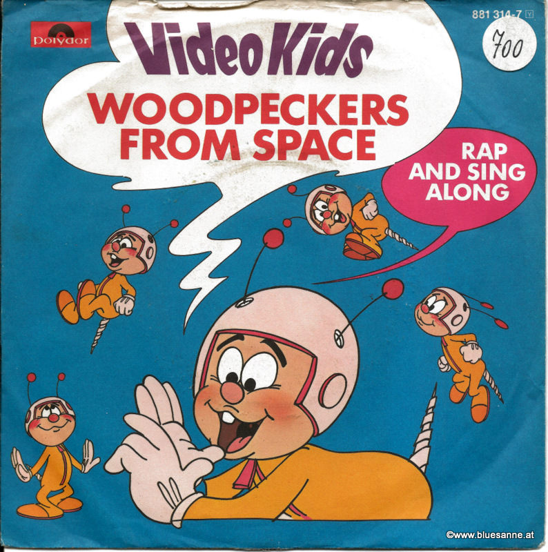 Video Kids Woodpeckers from Space 1984 Single