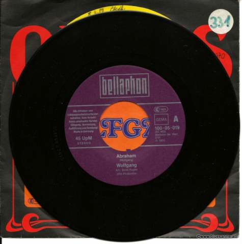 Wolfgang Abraham 1970 Single